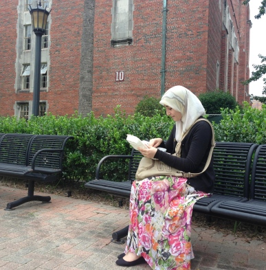 """""""Community discusses Islam 12 years after 9/11"""" Photo by Jessica DeBold"""